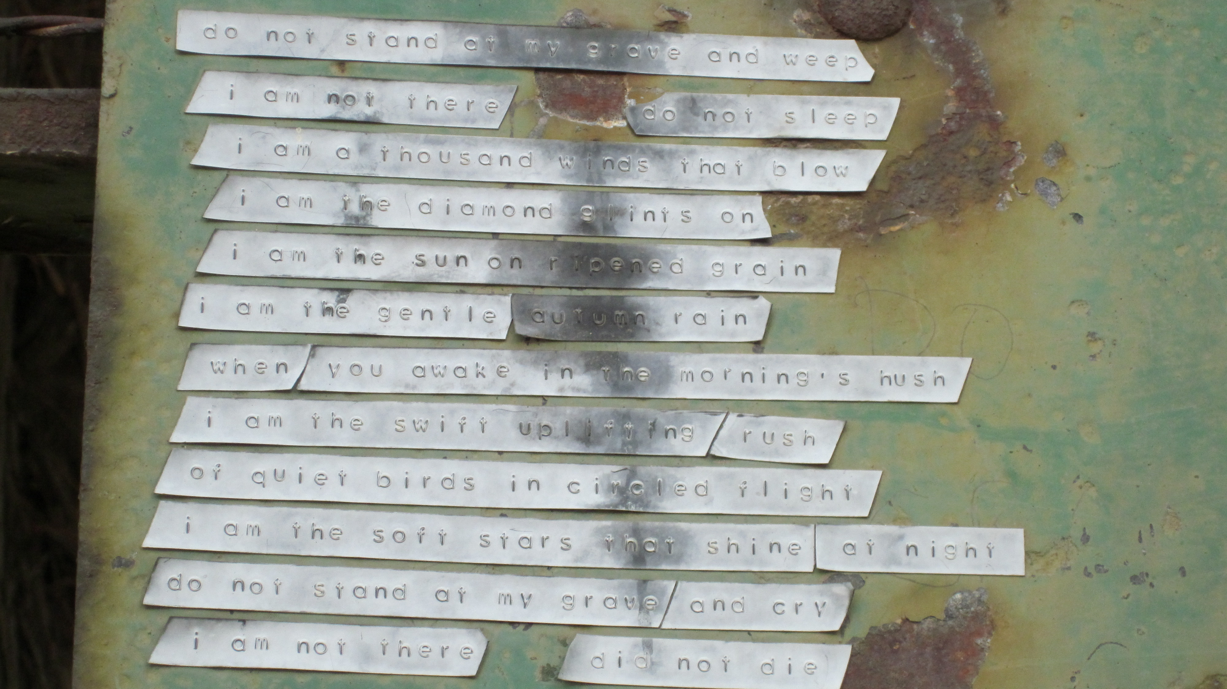 cemetery poem